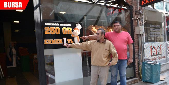 Ekmeği 1 lira yaptı, işleri yüzde 40 arttı