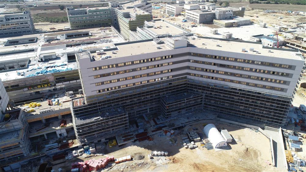 İnşaatı hızla ilerliyor! Bursa Şehir Hastanesi'ne Özlüce'den yeni bir yol...