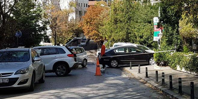 İran Büyükelçiliği önünde hareketlilik