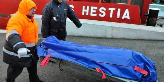 Kayıp Türk denizcinin cesedine ulaşıldı