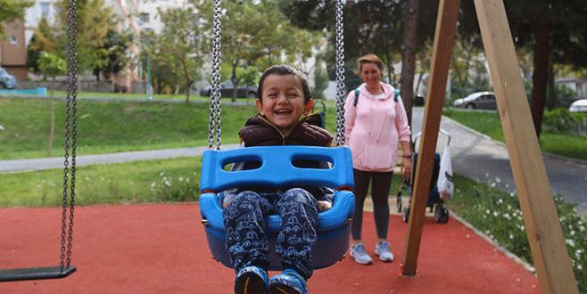 Nilüfer'in Menekşe Parkı'nda huzur var