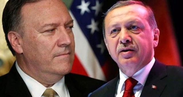 Cumhurbaşkanı Erdoğan, Pompeo ile bir araya geldi