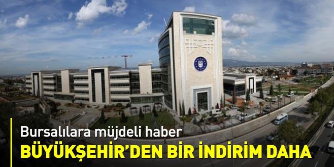Bursa'da suya ikinci indirim!