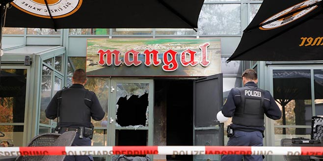 Türk restoranına saldırı