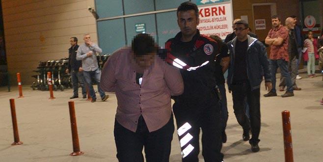 Bursa'da 'Dur' ihtarına uymayan sürücü kovalamaca sonucu yakalandı