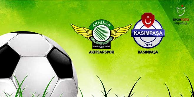 Kasımpaşa'nın konuğu Akhisarspor