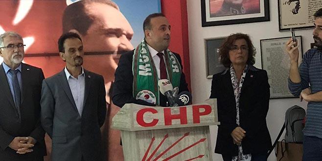 Mudanya'da Baykal CHP'den aday adayı