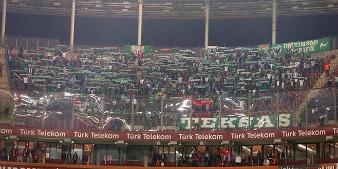 İstanbul'da gövde gösterisi