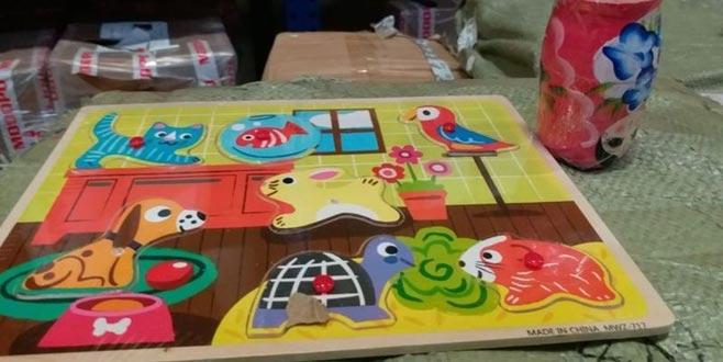 Sağlığa zararlı 15 bin oyuncak