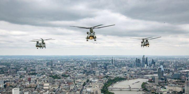 ABD'den İngiltere'ye  3,5 milyar dolarlık  askeri helikopter satışı