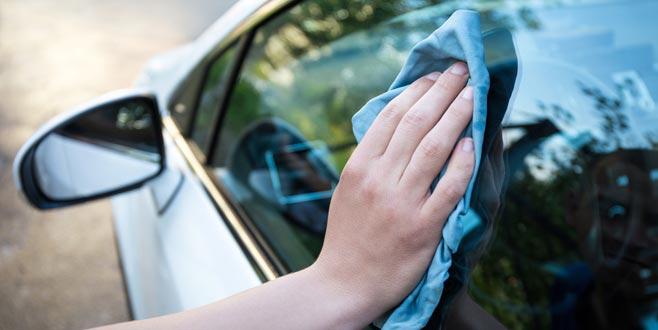 Trafikte zorla cam silene 'gasp'tan işlem yapılacak