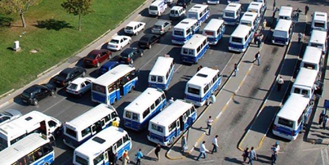 Bursa'da minibüs ücretlerine zam