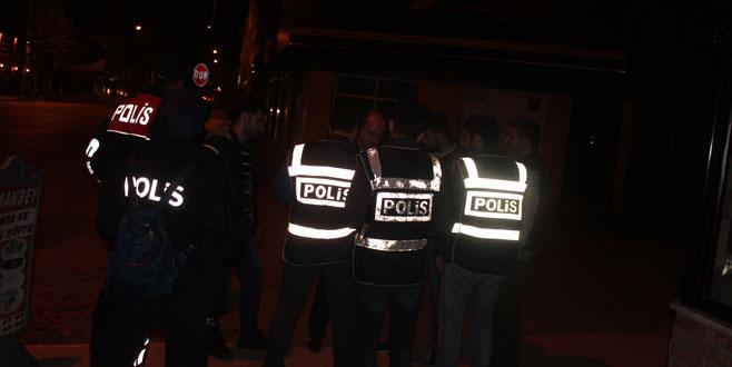 İnegöl'de 250 polisle huzur uygulaması