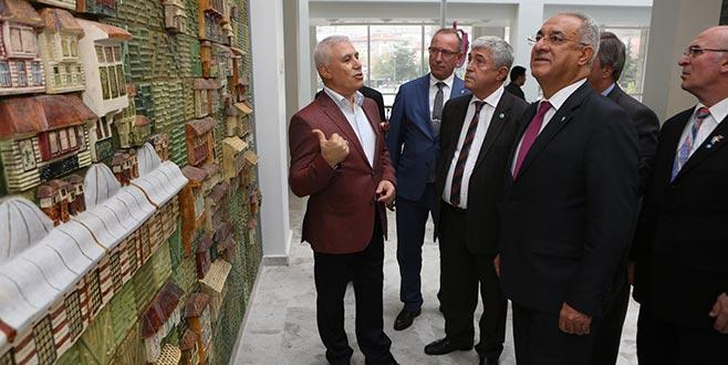 DSP Genel Başkanı Aksakal'dan Bozbey'e ziyaret