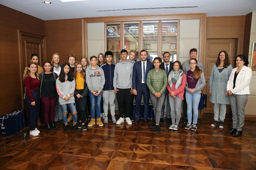 Alman öğrenciler Bursa'da