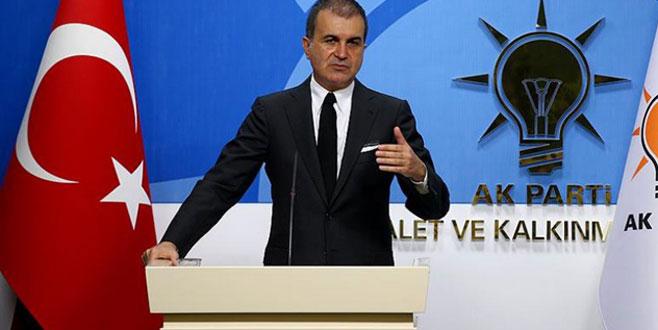 AK Parti Sözcüsü Ömer Çelik'ten 'Andımız' açıklaması