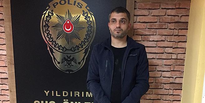 Suç makinesi Bursa'da yakalandı!