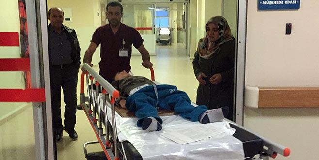 Bursa'da 7 yaşındaki çocuk ölümden döndü!