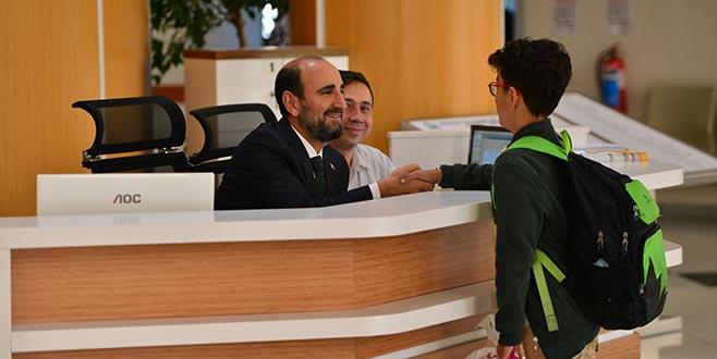 Edebali vatandaşları danışmada karşıladı