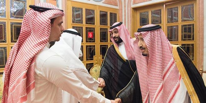 Suudi Kralı ile Veliahtı, öldürülen Kaşıkçı'nın ailesini ağırladı