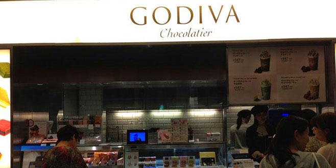 Godiva'nın Japonya birimini satıyor