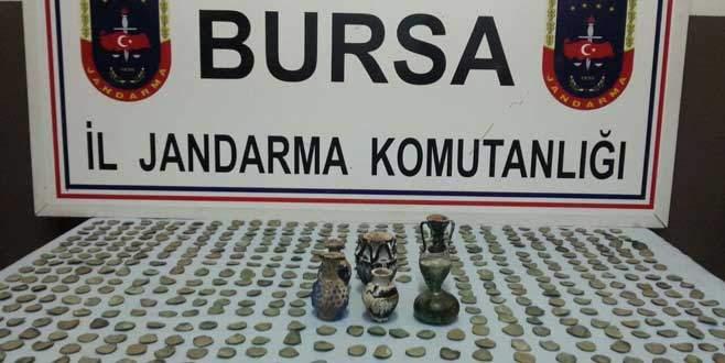 Bursa'da otobüsten tarih çıktı