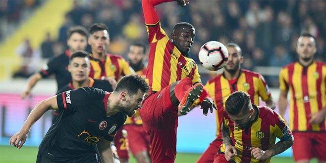 Galatasaray, Malatya'da kayıp