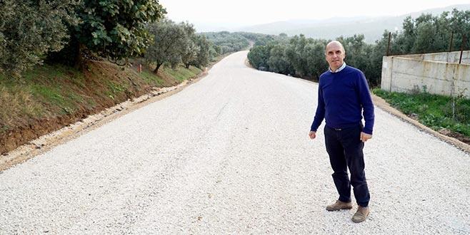 Köy yollarına yenileme