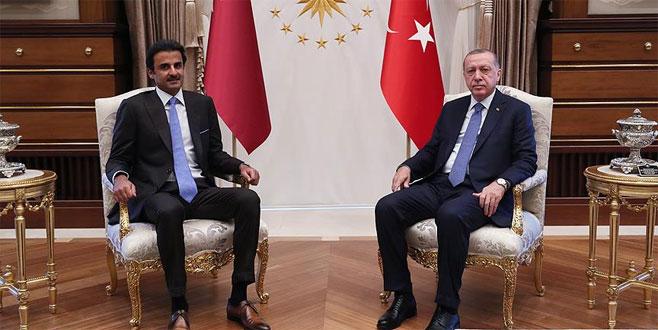 Cumhurbaşkanı Erdoğan ile Katar Emiri bir araya gelecek