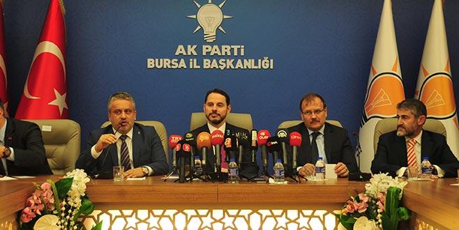Bakan Albayrak: Bursa büyük başarılara imza atmış bir şehir