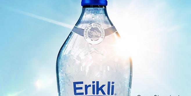 Erikli cam şişede