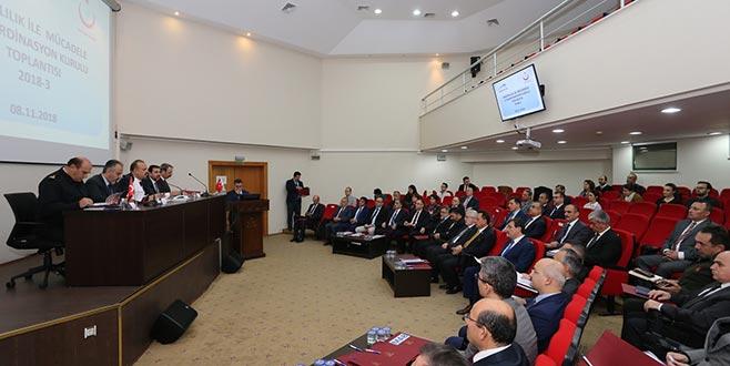 Bursa Valisi Canpolat ilk toplantısını yaptı
