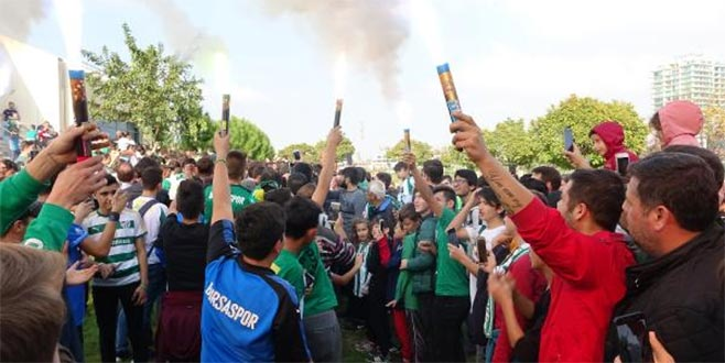 Bursaspor'a taraftar morali