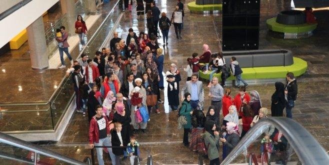 Bursalılar hafta sonu oraya akın etti