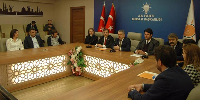 Sedat Yalçın Bursa Büyükşehir Belediye Başkanlığı için aday adayı