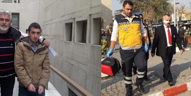 Bursa Adliyesi'nde mübaşire kafa atan genç tutuklandı