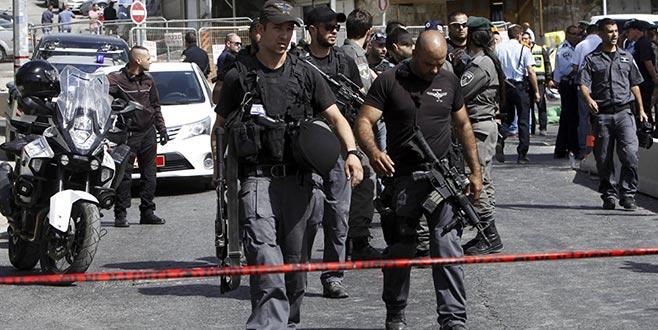 İsrail polisine bıçaklı saldırı