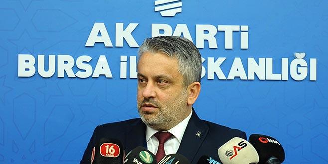 AK Parti Bursa İl Başkanı Salman'dan adaylık açıklaması