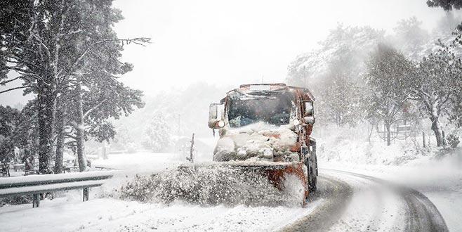 Uludağ'da kar kalınlığı 18 santimetre
