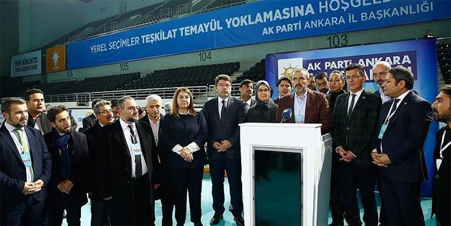 AK Parti'de temayül yoklaması başladı