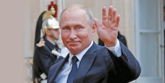 Putin bugün İstanbul'da