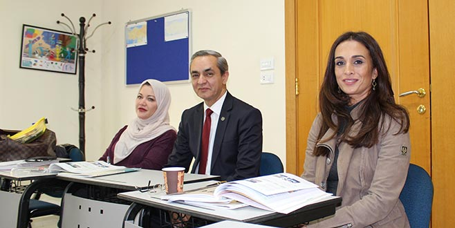 Prenses Türkçe öğreniyor