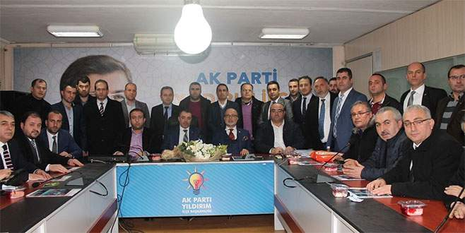 Ak Parti'de Osmangazi'den Yıldırım'a ziyaret