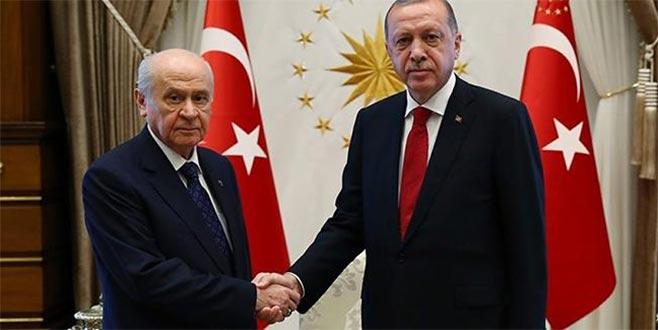 Erdoğan-Bahçeli görüşmesinde tarih belli oldu