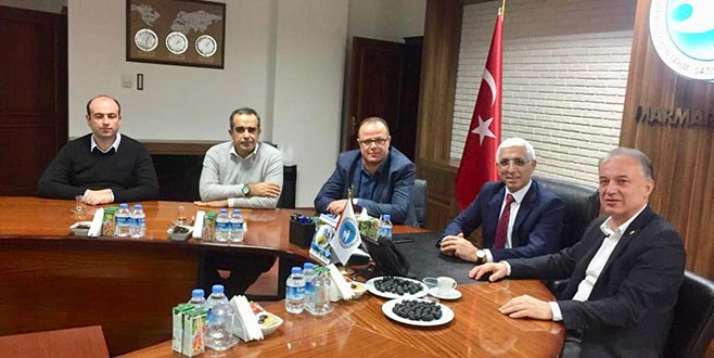 CHP'li Özkan Marmarabirlik'te
