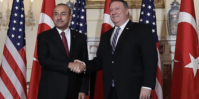 Dışişleri Bakanı Çavuşoğlu ile ABD'li mevkidaşı Pompeo görüştü