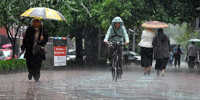 Meteoroloji'den uyarı: Öğleden sonraya dikkat!