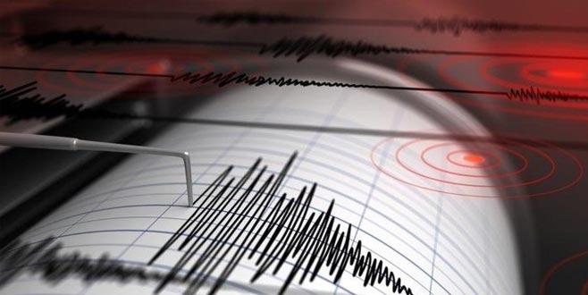 5 dakika arayla iki deprem