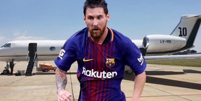 Messi'nin aldığı uçağın fiyatı dudak uçuklattı
