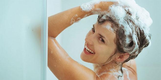 Banyo yaparken şampuanı fazla kullanırsanız...